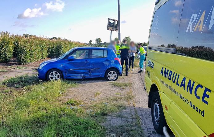Het ongeluk aan de Heikantsebaan, Berkel-Enschot .
