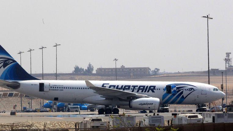 Een toestel van EgyptAir. Beeld anp