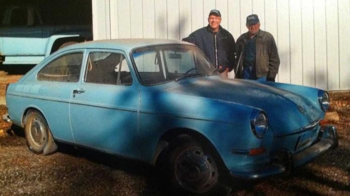 Toen de auto werd teruggekocht, verkeerde deze in erbarmelijke staat