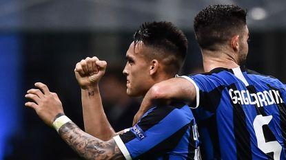 LIVE. Inter op voorsprong dankzij doelpunt Lautaro Martínez, Lukaku speelt anonieme match