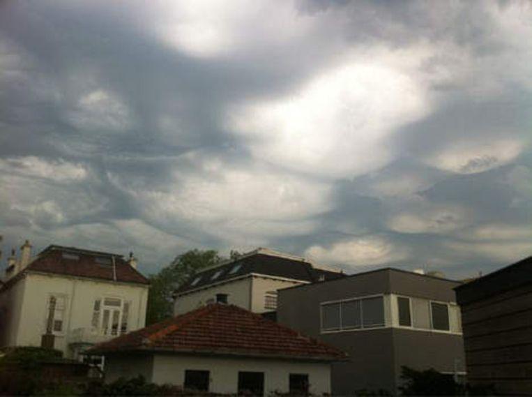 Laurens Jobse maakte deze foto vanochtend in Zeeland. Beeld