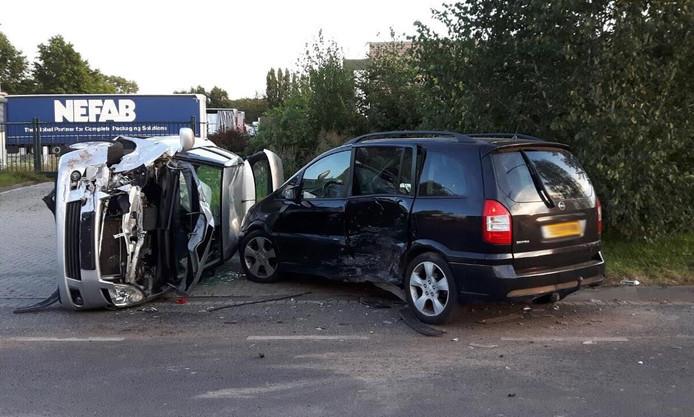 De bestuursters raakten beide gewond