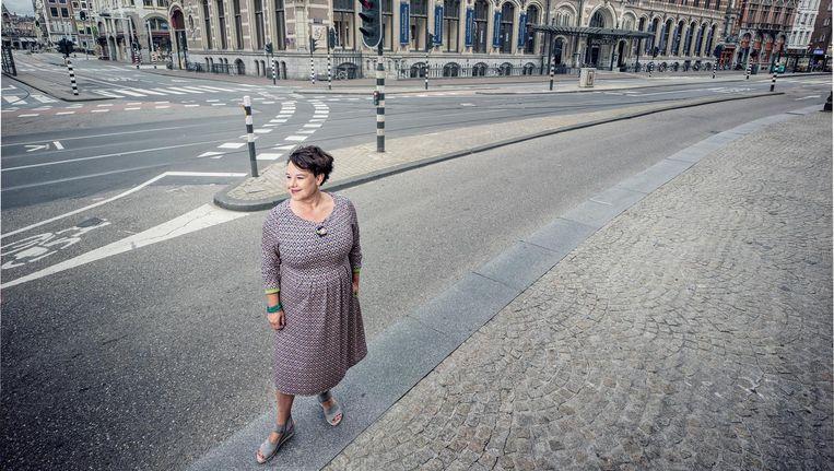 Sharon Dijksma: 'Ik ben niet het meisje dat alles goed komt maken, zo werkt het niet.' Beeld Martin Dijkstra