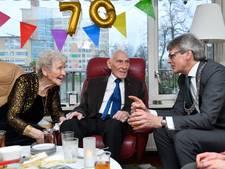 Amersfoorts echtpaar viert 70-jarig huwelijk