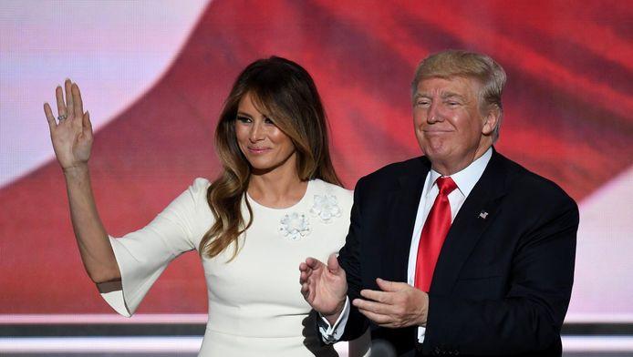 Melania Trump en Donald Trump
