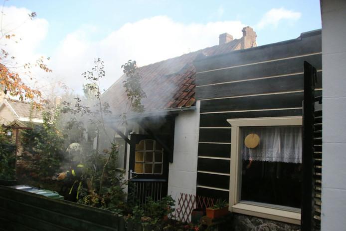 Het keukenbrandje was snel geblust.
