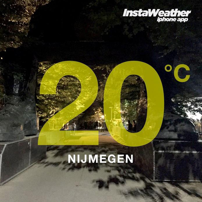 Nijmegen 3 uur start vierde dag Nijmeegse Vierdaagse 20 graden
