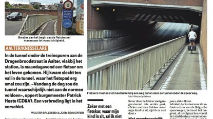 Pas in 2020 oplossing voor smalle tunnel