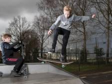 Tijs voelt zich koning te rijk op skatebaan