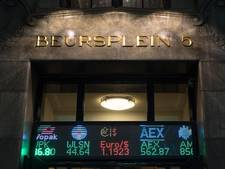AEX-index met kleine min het weekend in