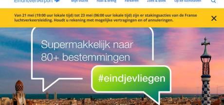 Franse stakingsacties treffen verkeer van en naar Eindhoven Airport