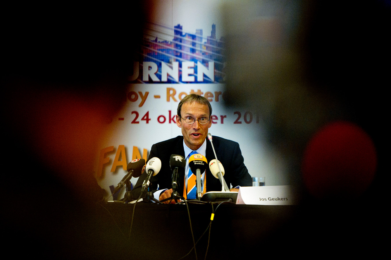 Voormalig bondsvoorzitter Jos Geukers.