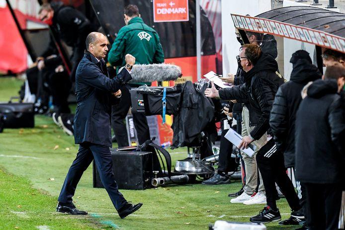 Tout n'a pas été parfait, mais Roberto Martinez est satisfait de la prestation et de l'attitude de ses joueurs.