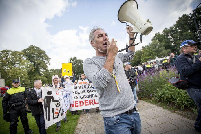 Pegida Nederland-voorman Edwin Wagensveld