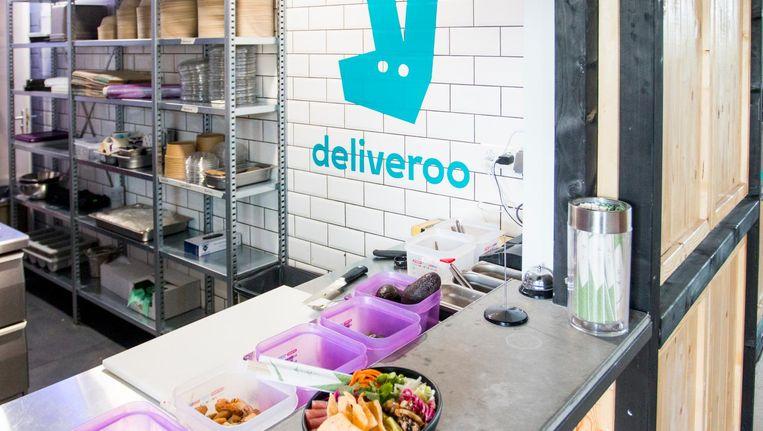 De keuken van Deliveroo in Mooie Boules in Oost Beeld Jesper Boot