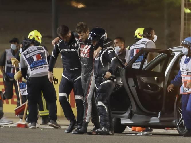 Fransman Grosjean overleeft doodsklap met 225 km/u en stapt na dik twintig seconden quasi ongedeerd uit brandend wrak: een mirakel dat vragen oproept