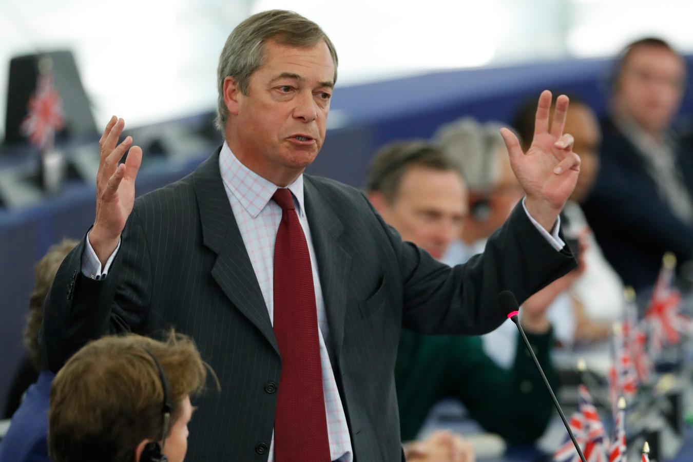 """Nigel Farage; ,,Boe!"""""""