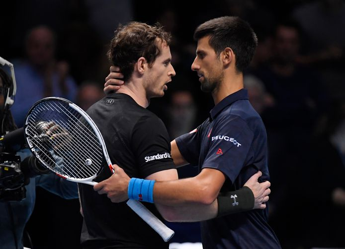 Murray en Djokovic.