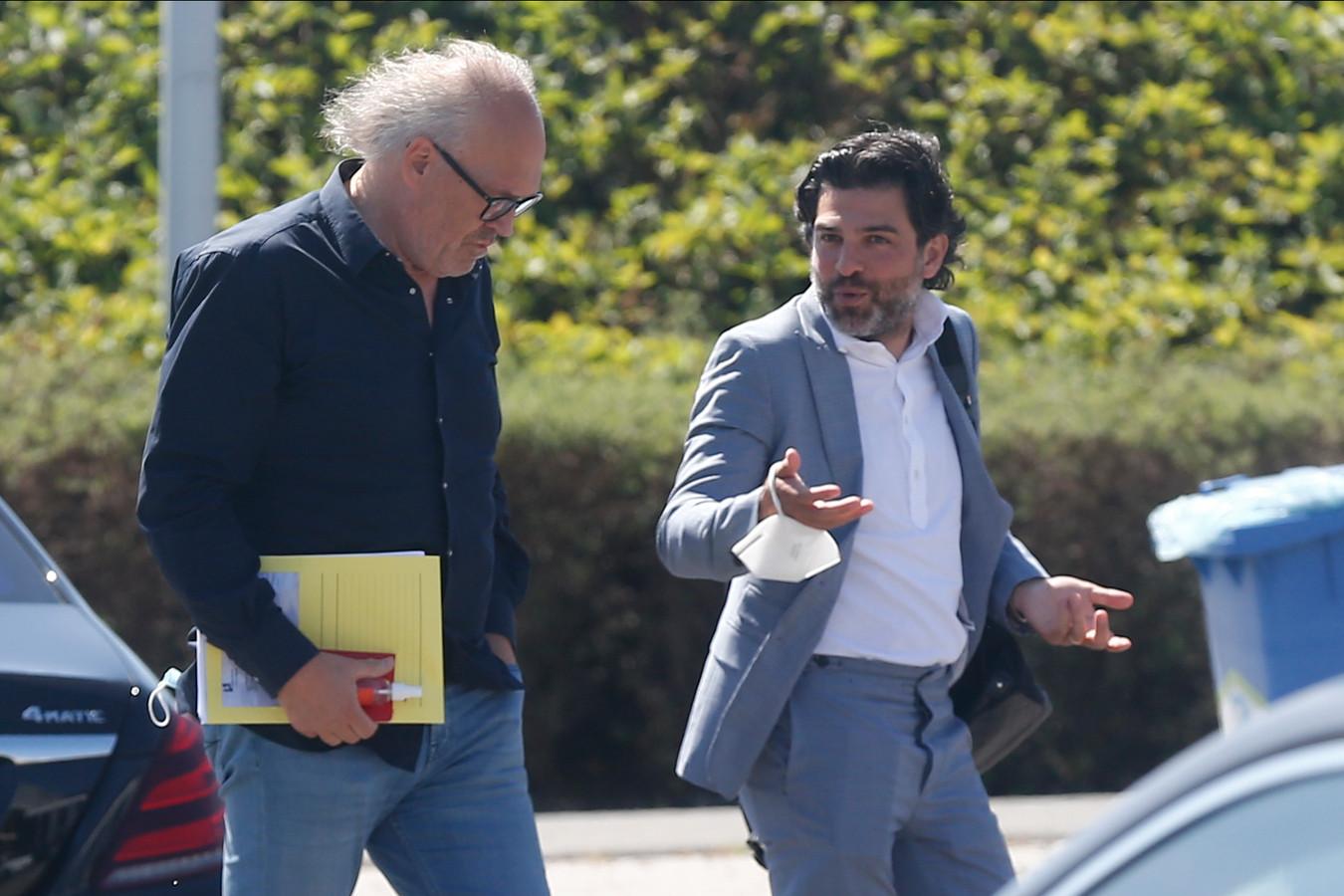 Allijns hier met bondsvoorzitter Mehdi Bayat