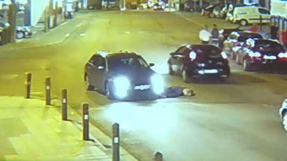 Zware verkeersagressie: auto maait man met opzet omver in Courcelles