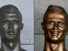 Mislukt standbeeld van Ronaldo vervangen door betere versie