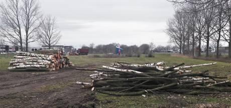 Het is begonnen; enorm gebied langs de A59 Drunen maandenlang op de schop