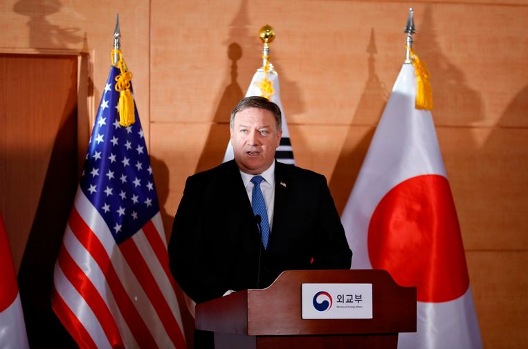Mike Pompeo in Seoul.