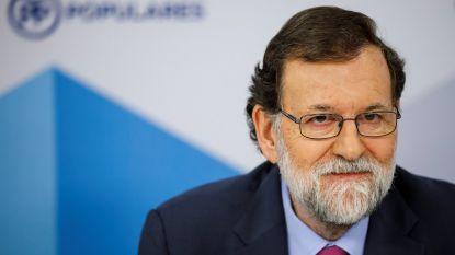 """Rajoy: """"Als Puigdemont opnieuw premier wordt, blijft Catalonië onder voogdij Madrid"""""""