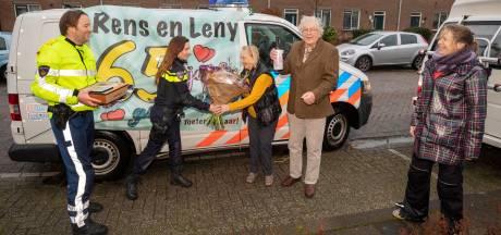 Loeiende sirenes én een felicitatie van Mark Rutte: 65-jarig huwelijk om niet te vergeten
