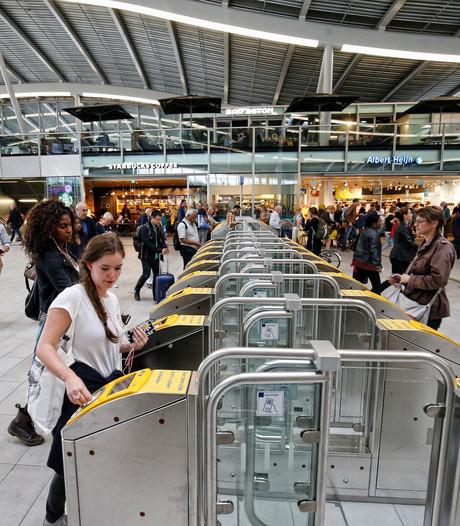Poortjes op Utrecht CS voorlopig weer open, proef wel geslaagd