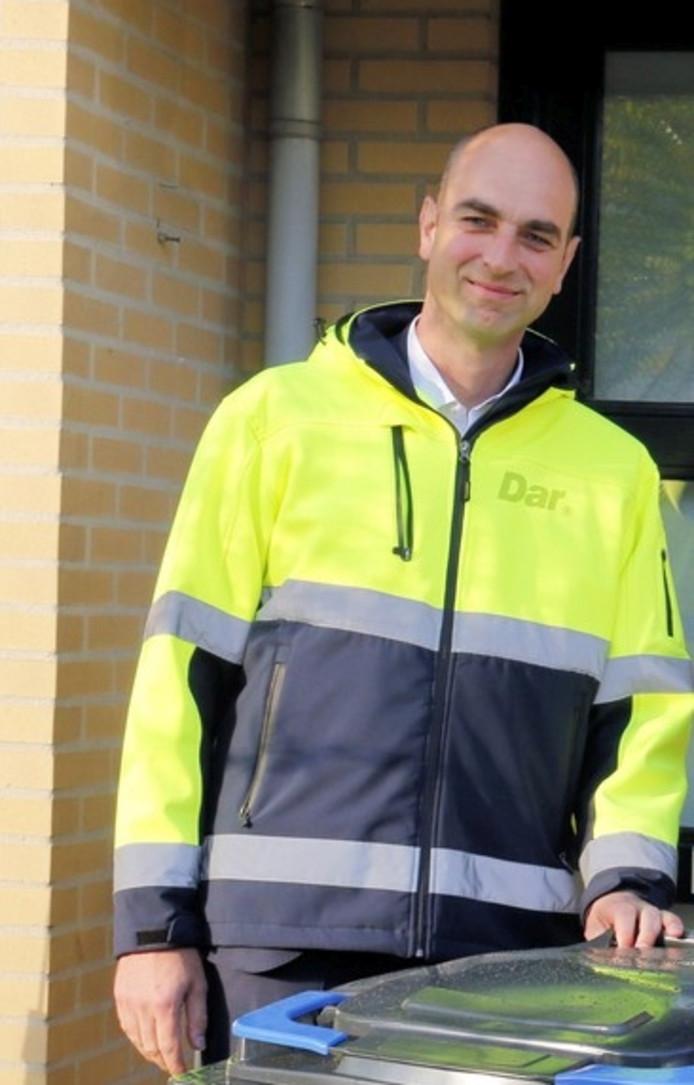 Bart de Bruin, de nieuwe directeur van de Dar.