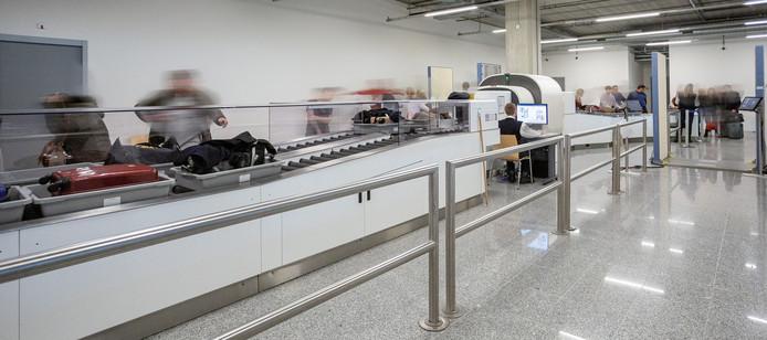 Nieuwe bagagescanners op Eindhoven Airport