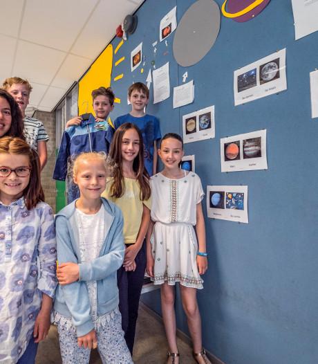 Leerlingen sturen vraag de ruimte in: 'Last van hoogtevrees?'