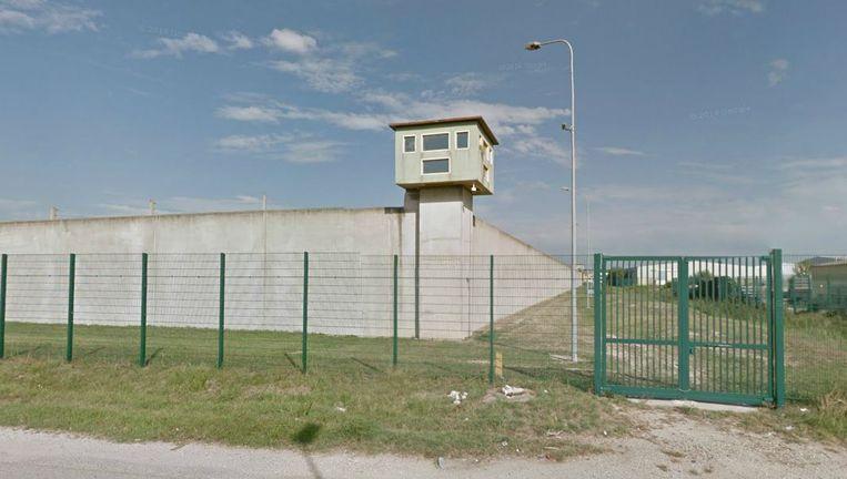 De gevangenis in Frankrijk. Beeld Google Streetview