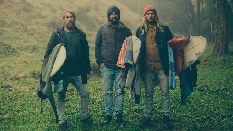 Surfers kunnen hun lol op dit weekend, onder andere bij FC Hyena. Beeld Seasick Film Festival