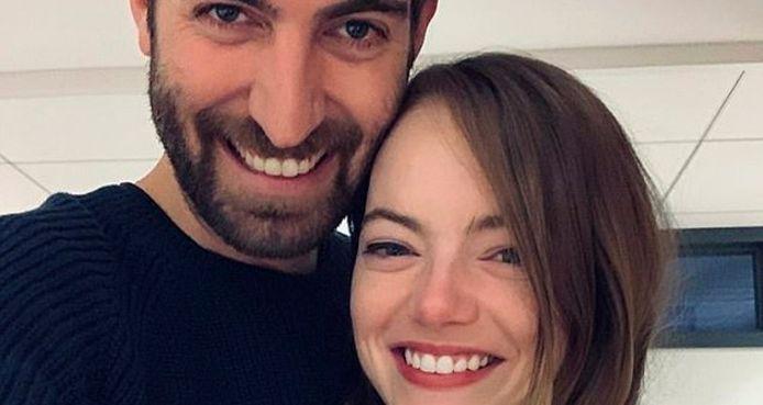 Emma Stone et son fiancé Dave McCary