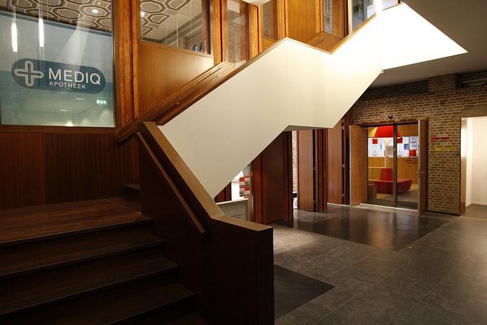 Interieur van het gezondheidscentrum. Foto Ab Hakeboom