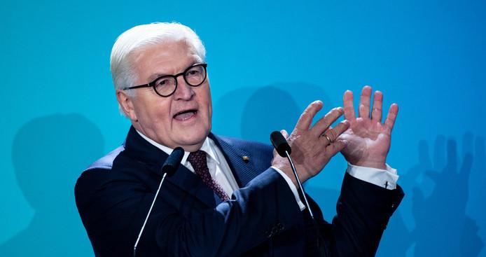 Le président allemand Frank-Walter Steinmeier.