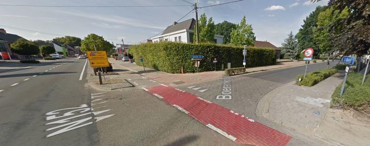 Het kruispunt van de N152 met de Boerenkrijglaan gaat maandag dicht.