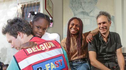 Tien jaar na aardbeving Haïti ontmoet Harielle (15) de dokter die haar naar België bracht