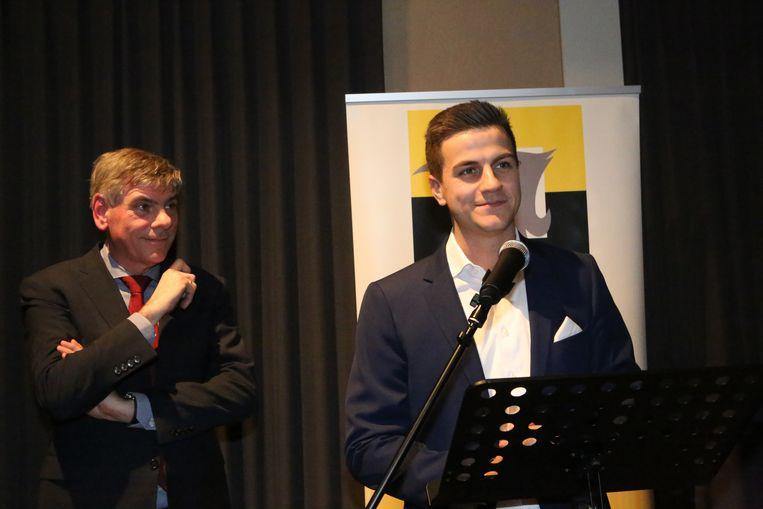 Filip Dewinter en Dries Van Langenhove
