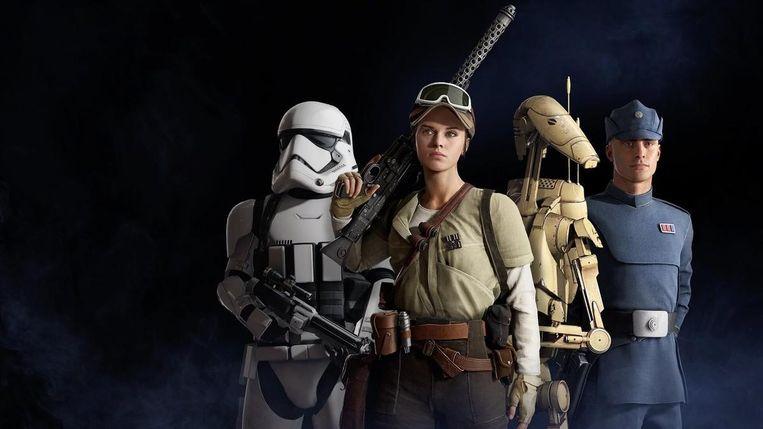 Star Wars Battlefront II. Beeld