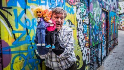Puppetbuskers vieren 30ste verjaardag in kerk