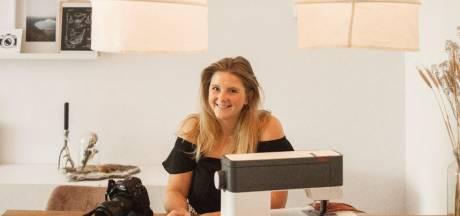 Marieke was binnen uur werkloos, maar runt nu een succesvol mondkapjes-bedrijf