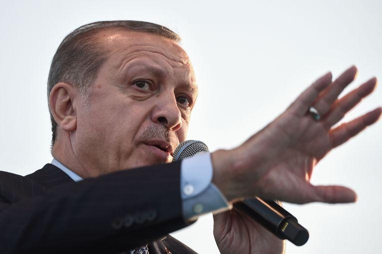 Turks president Erdogan wil een referendum over de doodstraf.