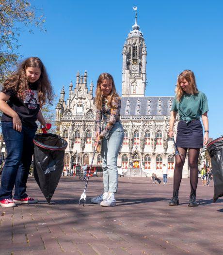 Najaarsschoonmaak voor de binnenstad