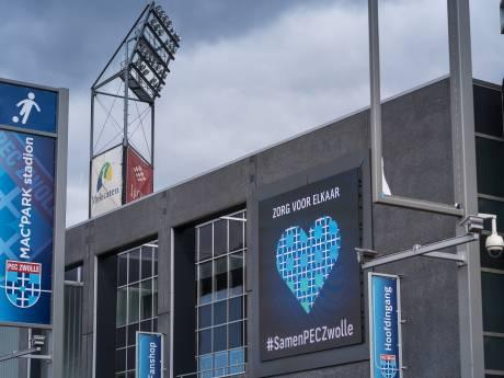 PEC Zwolle lijdt miljoenenverlies door corona en stelt 'top 8-ambitie' uit