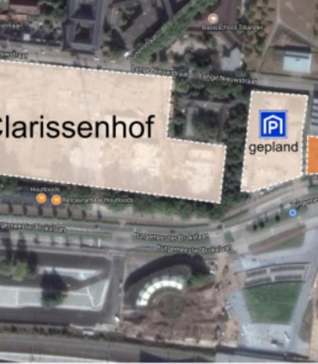 Parkeergarage Clarissenhof nog niet klaar: tijdelijke alternatieven
