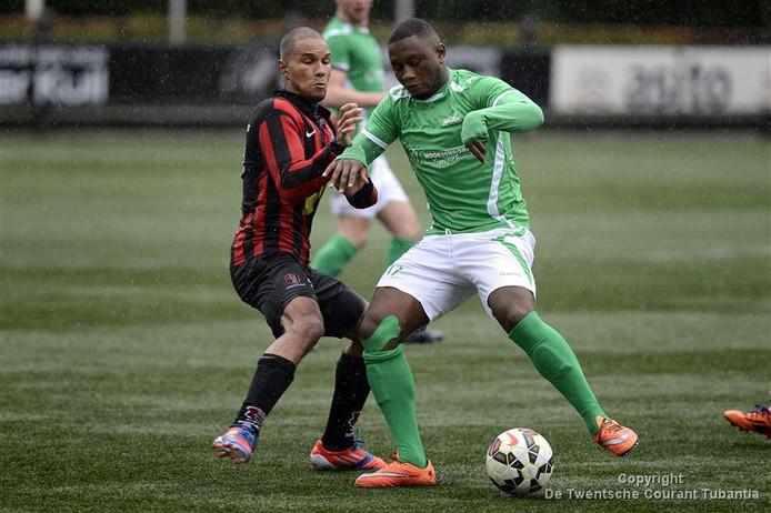 Coplan Soumaoro als speler van HSC'21 in een wedstrijd tegen OJC Rosmalen.