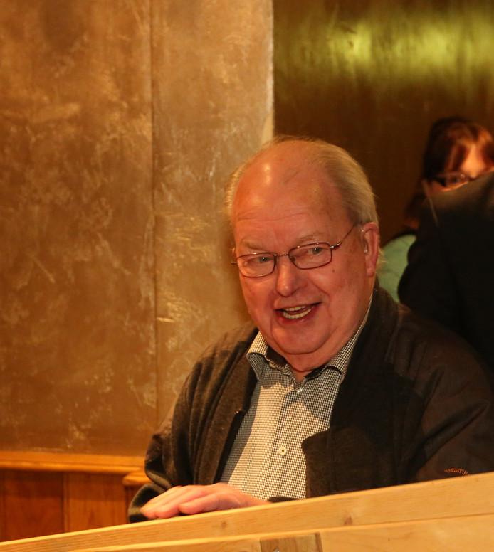 Joop Diekman hield van gezelligheid, maar trad niet graag op de voorgrond.